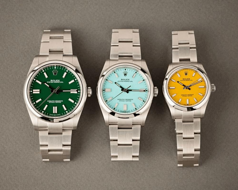 Hướng dẫn toàn diện về đồng hồ Rolex Oyster Perpetual