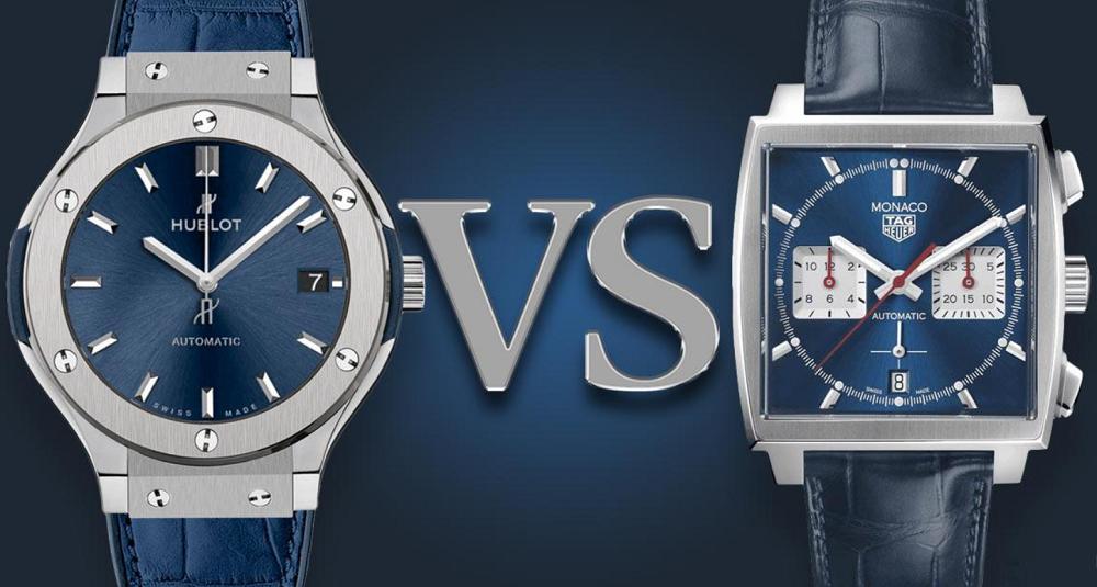 So sánh thương hiệu đồng hồ TAG Heuer và Hublot