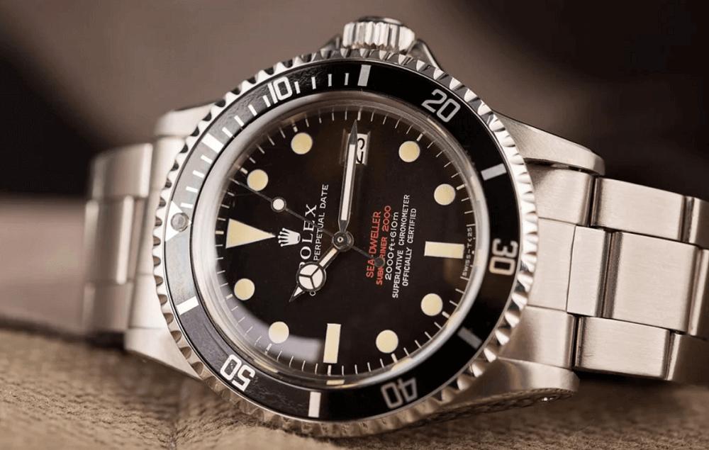 4 Điều bạn chưa biết về đồng hồ Rolex Double Red Sea-Dweller (DRSD)