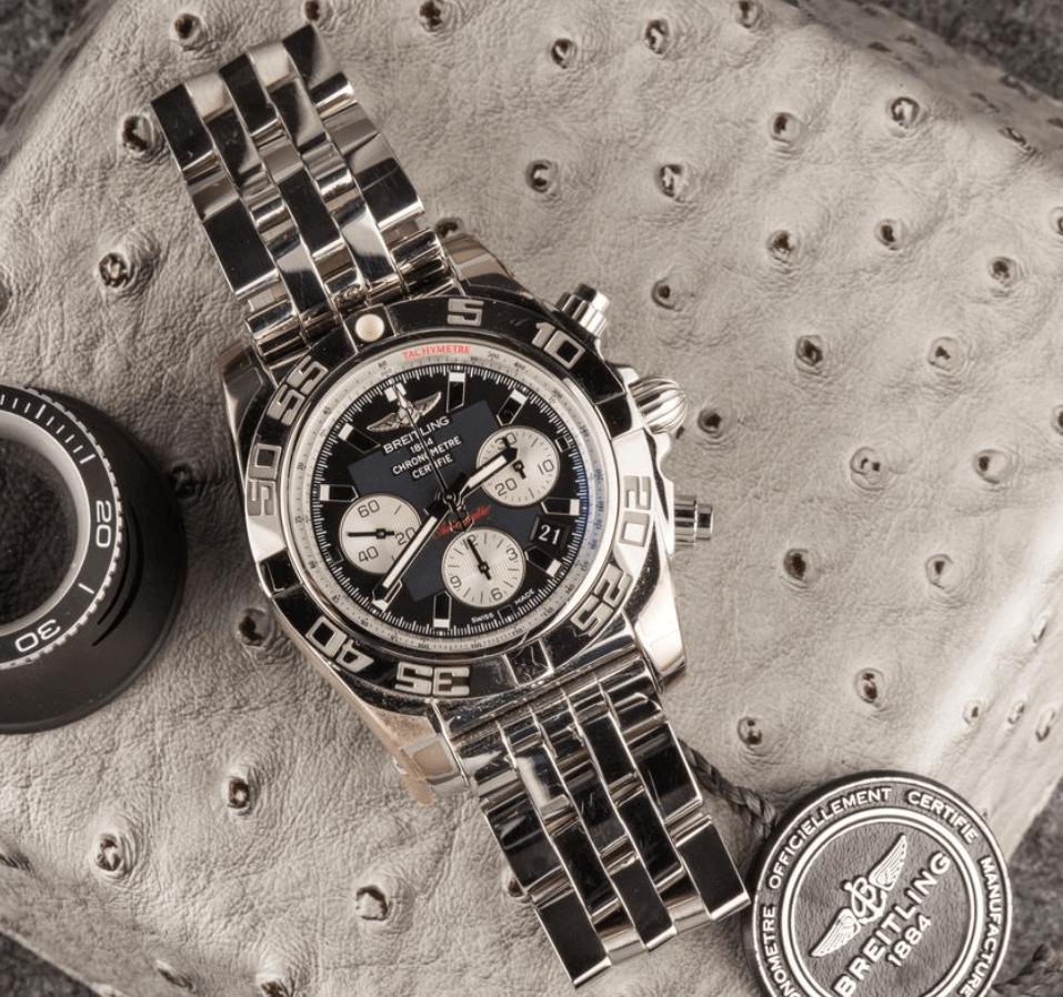 Dây đồng hồ Breitling Chronomat