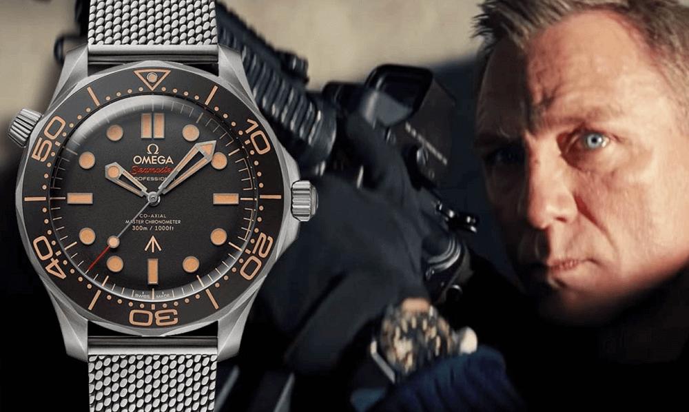 Đồng hồ Omega Seamaster được đeo bởi James Bond điệp viên 007
