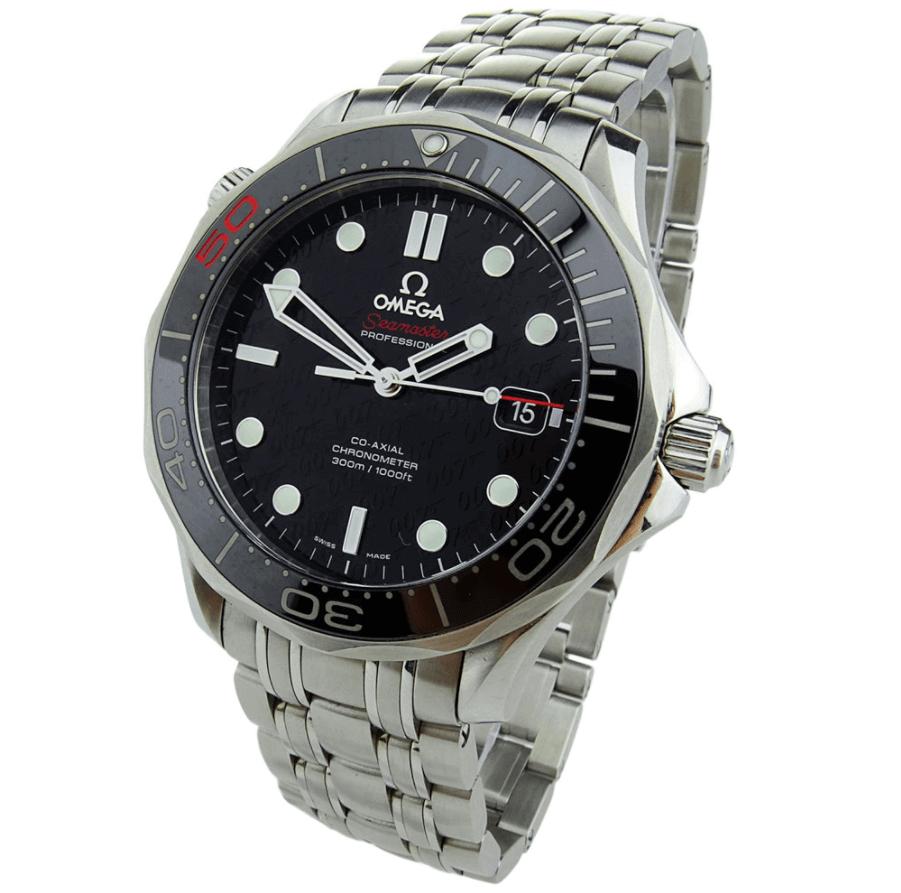 Đồng hồ Omega Seamaster Diver 300M Ref. 212.30.41.20.01.005 - James Bond 50th Anniversary