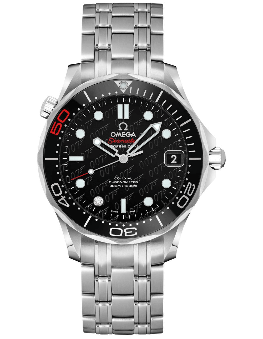 Đồng hồ Omega Seamaster Diver 300M Ref. 212.30.36.20.51.001 - James Bond 50th Anniversary (Midsize)