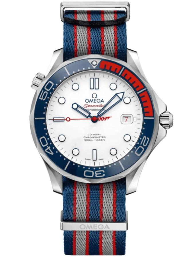 Đồng hồ Omega Seamaster Diver 300M Ref. 212.32.41.20.04.001 - Commanders