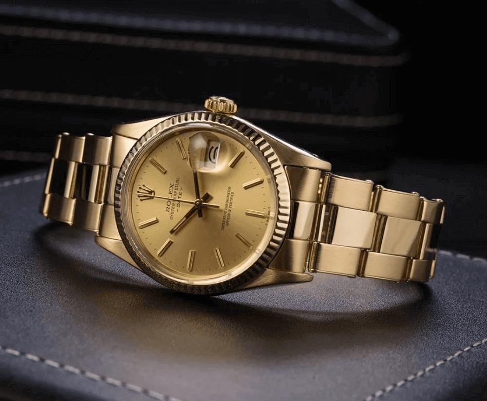 Đồng hồ Rolex Date - Yellow Gold