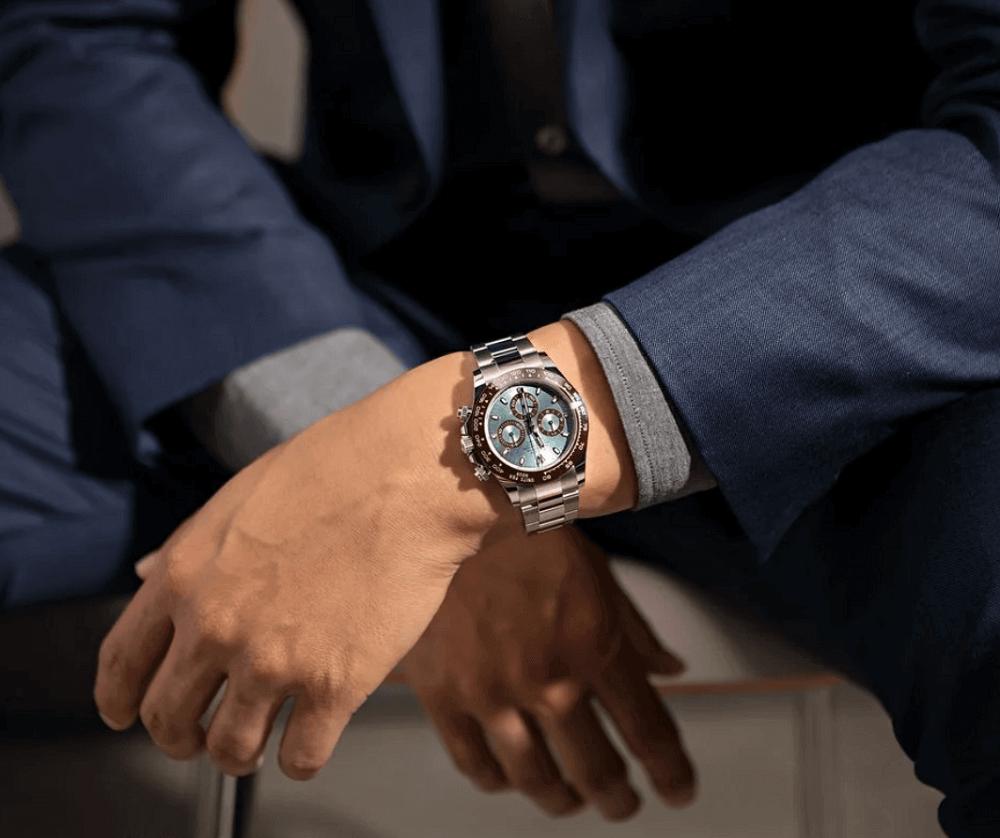 Giới thiệu về đồng hồ Rolex Daytona Bạch Kim