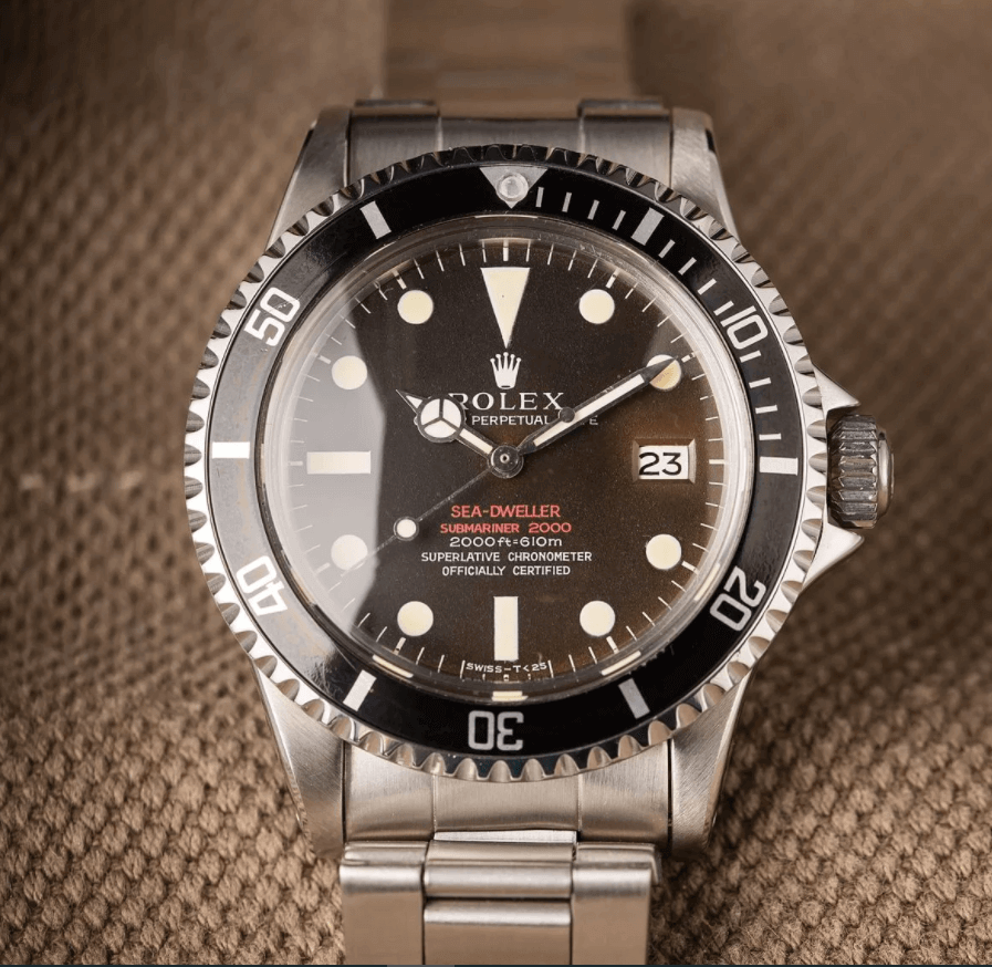 Đồng hồ Rolex Sea-Dweller 1665 - Double Red (DRSD)