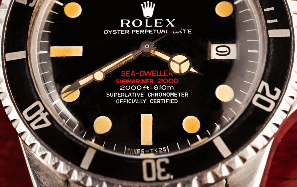 Đồng hồ Rolex Sea-Dweller Ref. 1665 - Double Red Dial