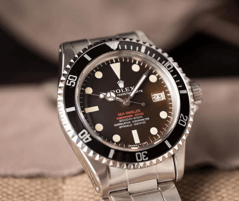 Đồng hồ Rolex Sea-Dweller Ref. 1665 - Tropical Dial