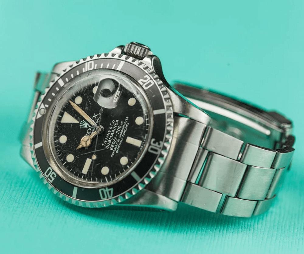 Đồng hồ Rolex Submariner Ref. 1680 - Mặt số Tiffany