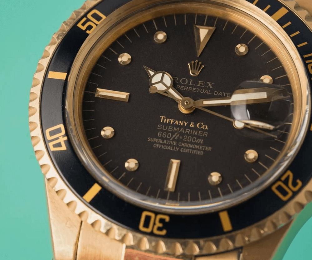 Đồng hồ Rolex Submariner Ref. 1680/8 - Mặt số Tiffany & Co.