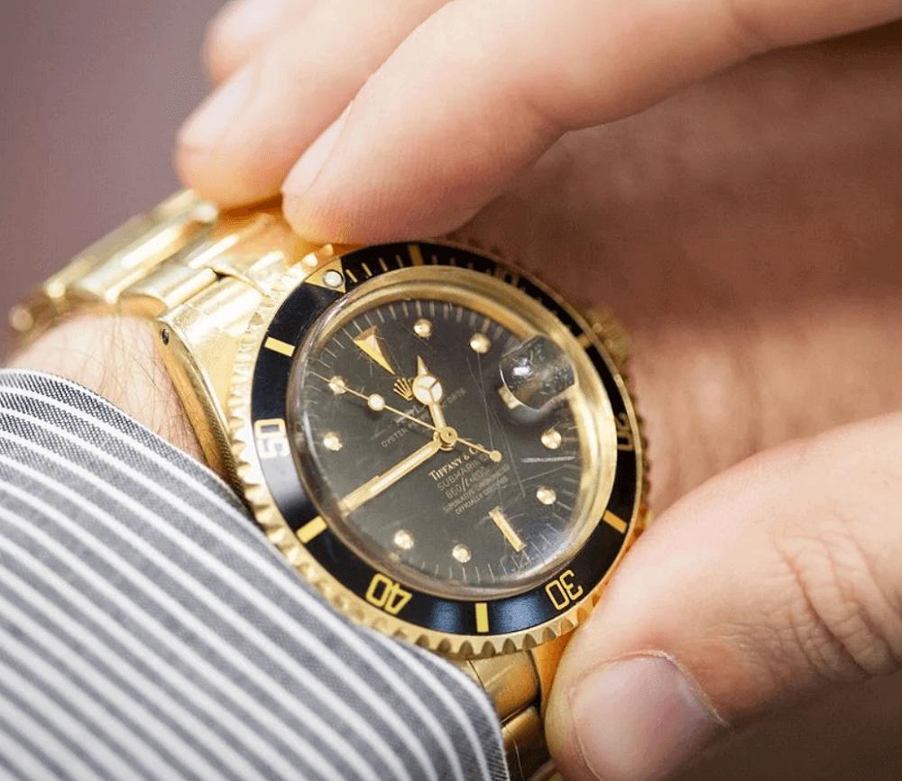 Đồng hồ Rolex Submariner 1680/8 - Mặt số Tiffany