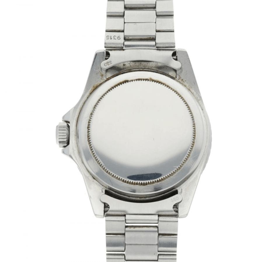 Đồng hồ Rolex Submariner 5513 - Caseback