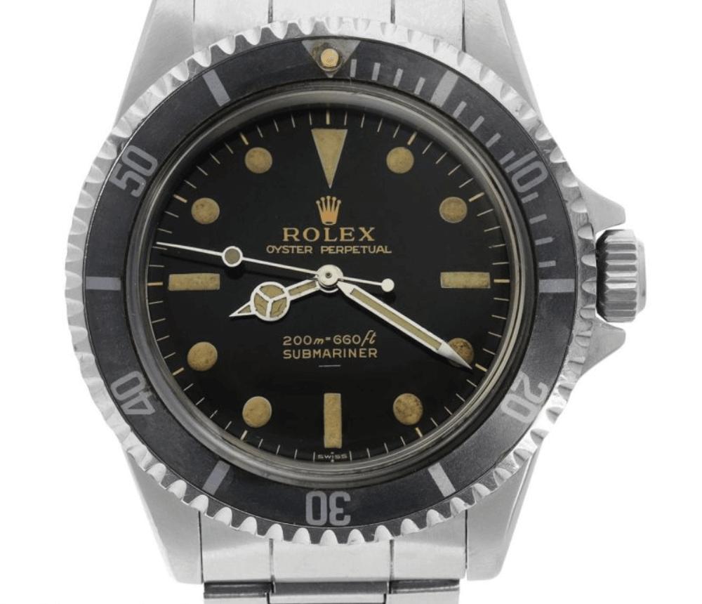 Đồng hồ Rolex Submariner 5513 - Dial