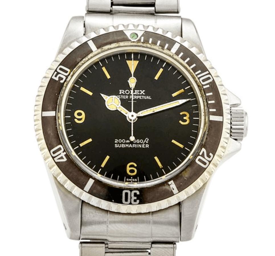 Đồng hồ Rolex Submariner 5513 - Explorer Dial