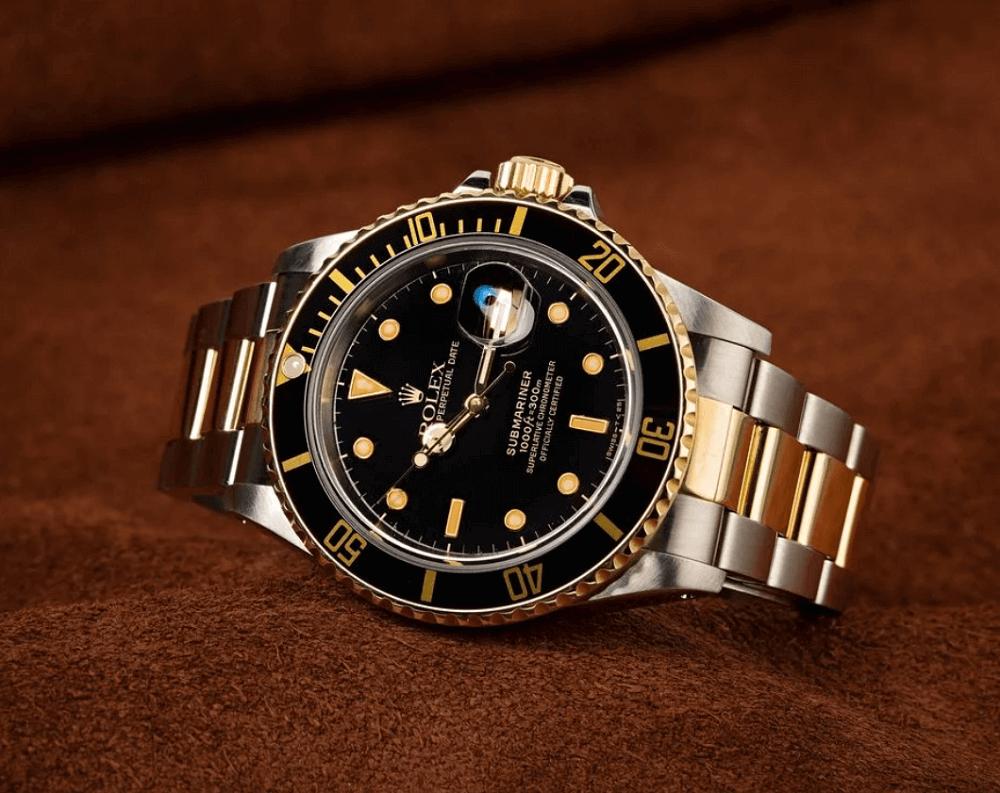 Đồng hồ Rolex Submariner 16803 - Mặt số Đen