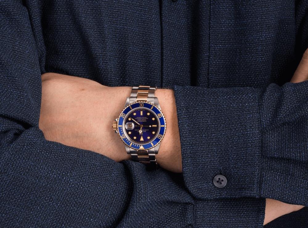 Đồng hồ Rolex Submariner 16803 - Mặt số Blue
