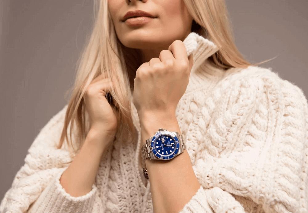 """Đồng hồ Rolex Submariner Ref. 116619LB - """"Smurf"""""""