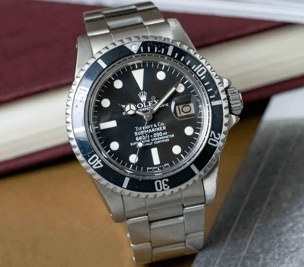 Đồng hồ Rolex Submariner 1680 Mặt số Tiffany & Co.