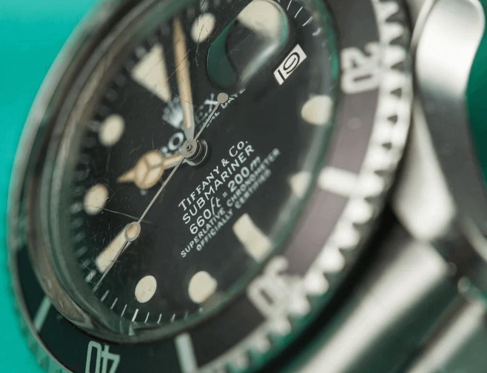 Đồng hồ Rolex Submariner 1680 - Tiffany & Co.