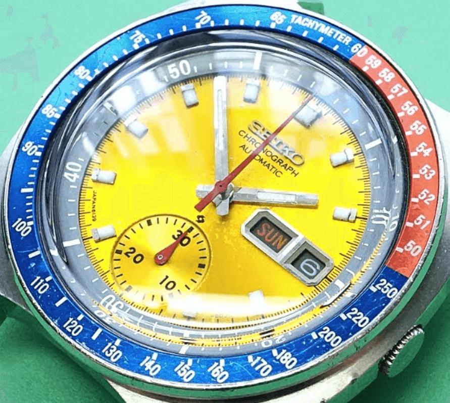 Đồng hồ Seiko 6139-6002 Bezel Pepsi