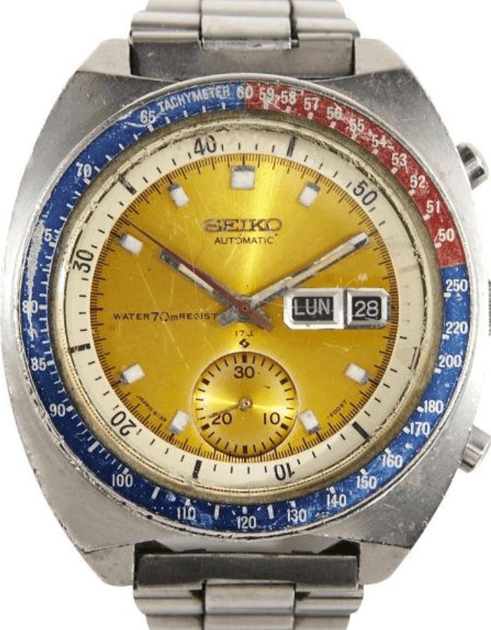 Đồng hồ Seiko 6139-6002 được đeo bởi Pogue