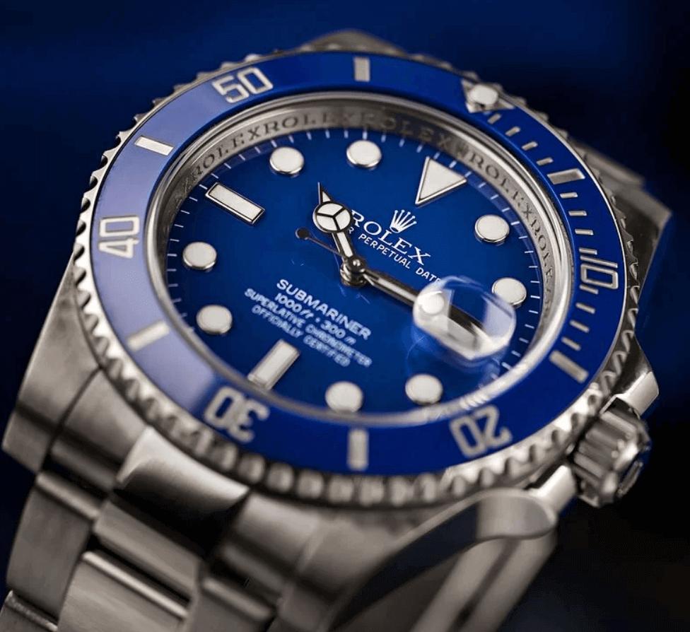 """Giá Đồng hồ Rolex Submariner 116619LB - """"Smurf"""""""