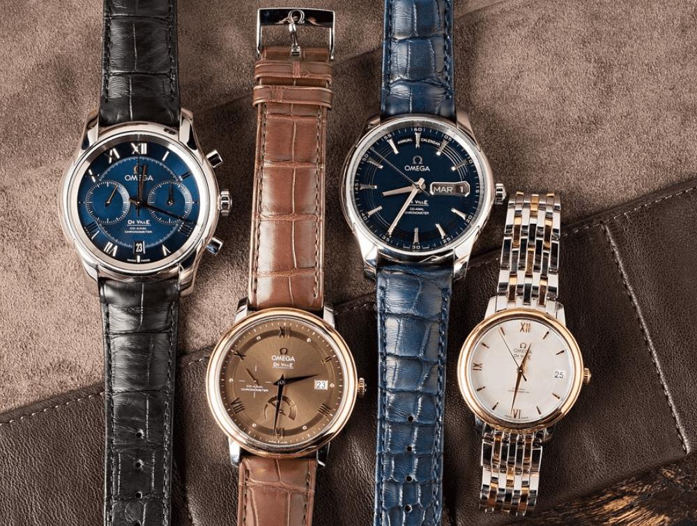 Hướng dẫn mua đồng hồ Omega De Ville