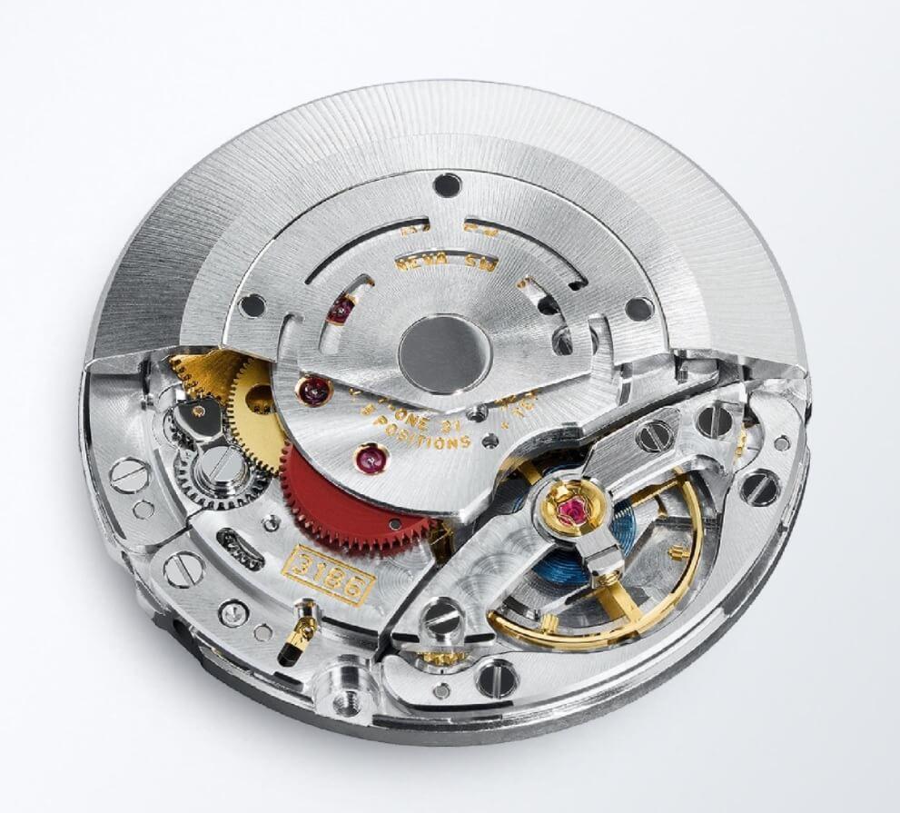 Bộ máy Rolex Calibre 3186