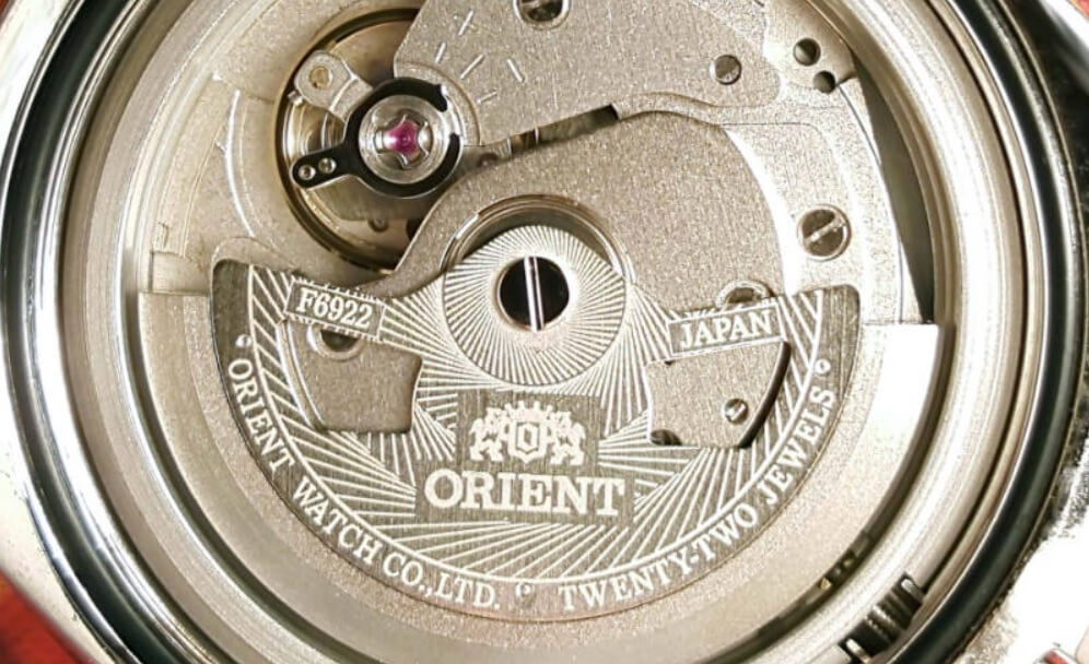 Bộ máy Orient Calibre F6922