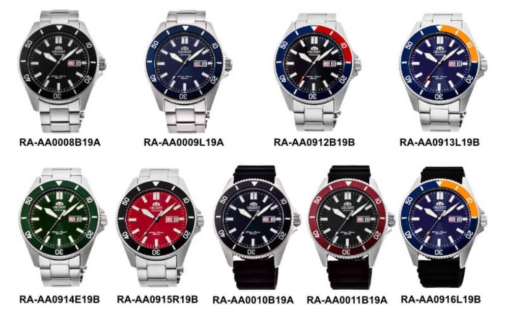 Các mẫu đồng hồ Orient Kano