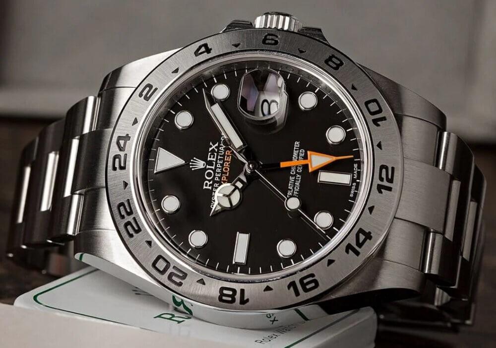 Hướng dẫn và đánh giá đồng hồ Rolex Explorer II tham chiếu 216570
