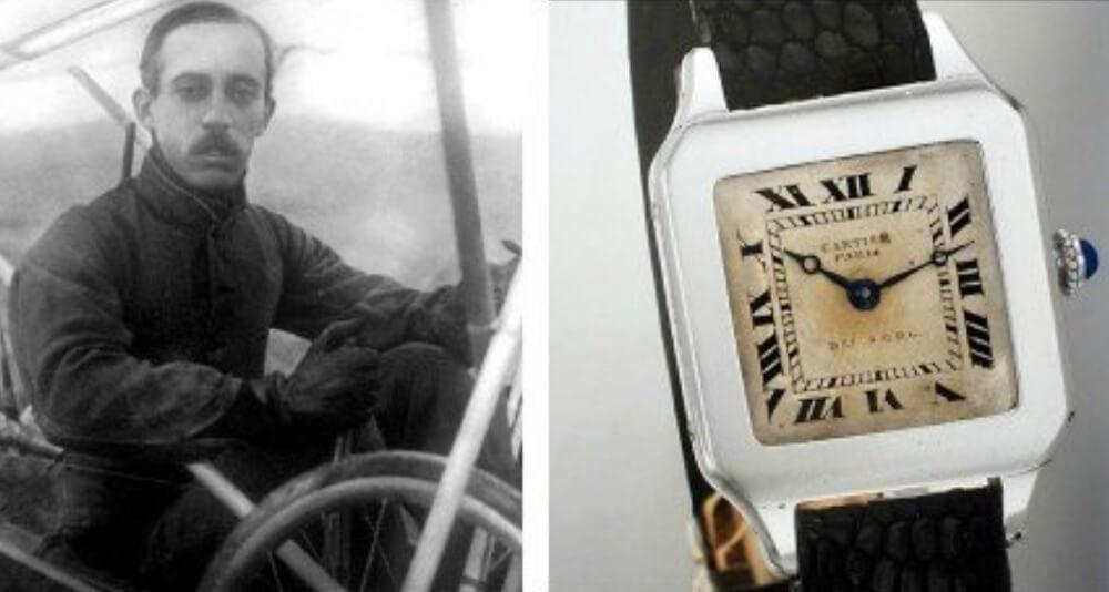 Đồng hồ Cartier Santos cổ điển