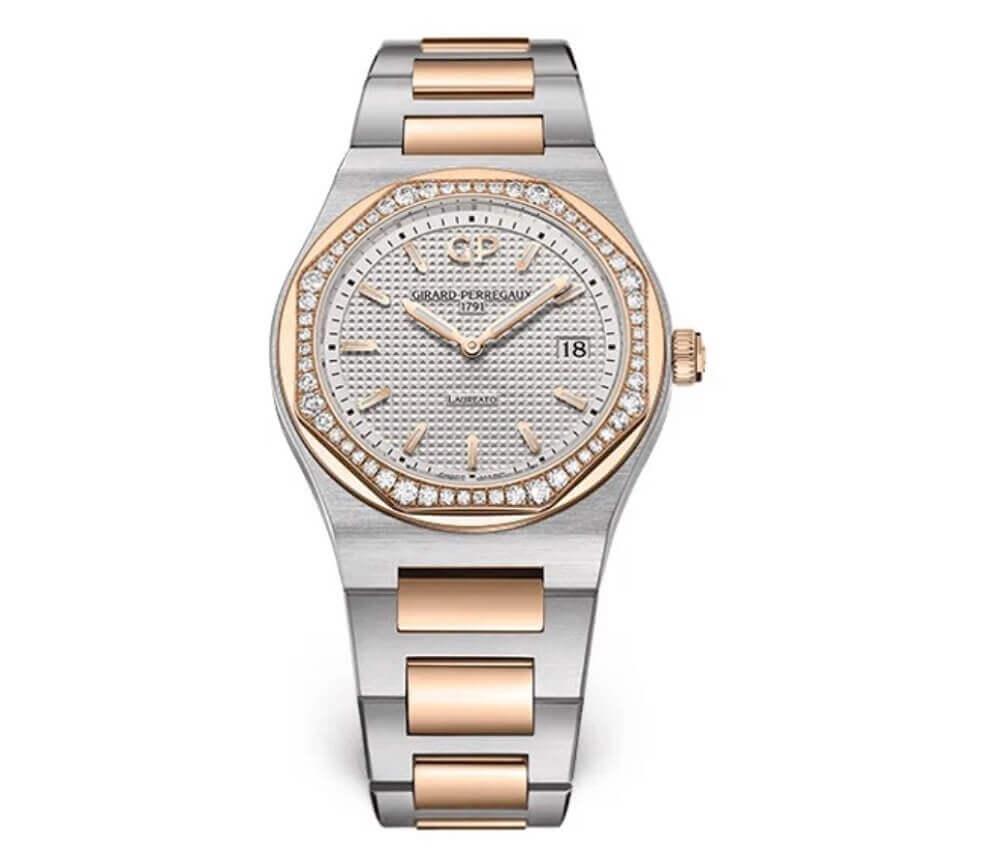 Đồng hồ Girard-Perregaux Laureato 80189D56A132-56A - Size 34mm