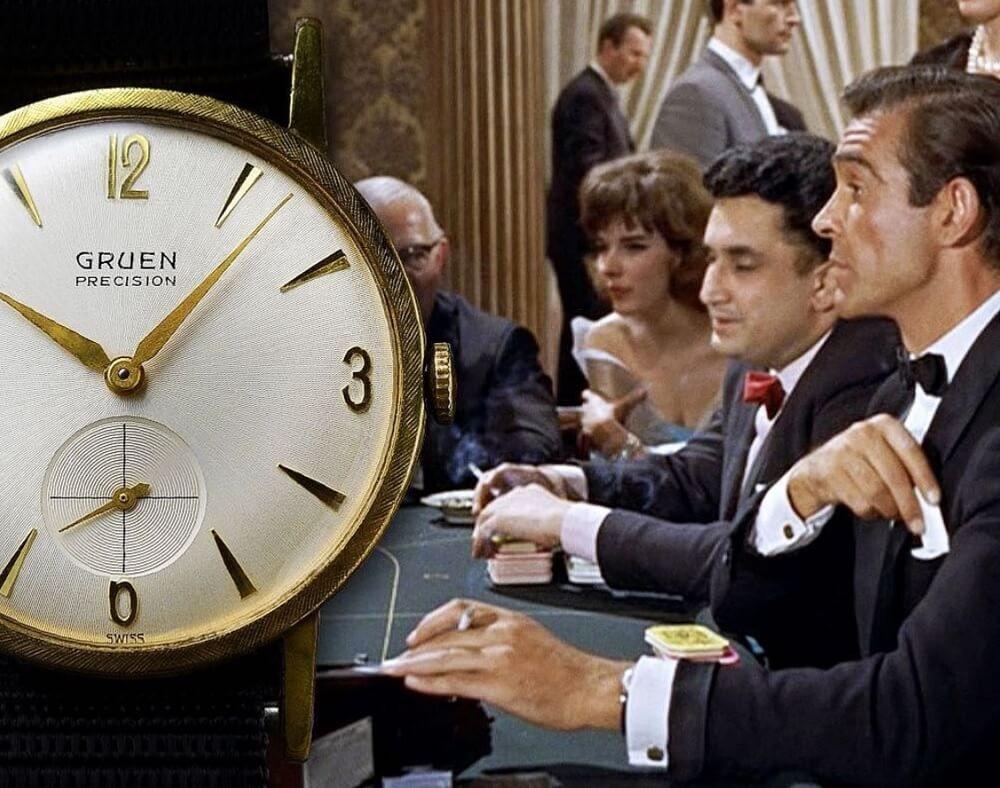 Đồng hồ Gruen Precision 510 - James Bond (Sean Connery)