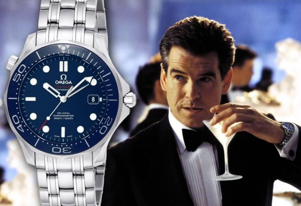 Đồng hồ Omega Seamaster - James Bond (Pierce Brosnan và Daniel Craig)