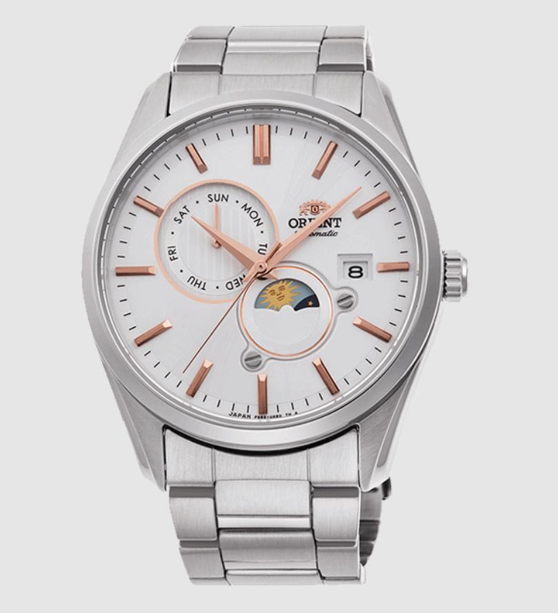 Đồng hồ Orient Sun and Moon Ref. RA-AK0301S10B