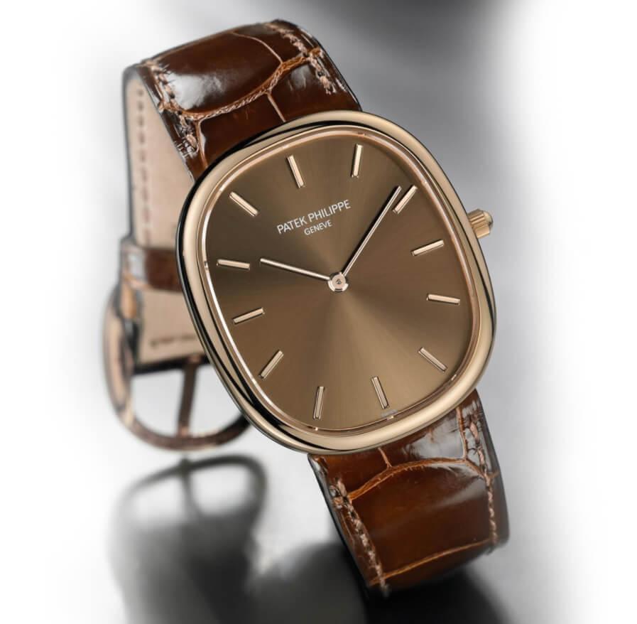 Đồng hồ Golden Ellipse Rose Gold cổ điển