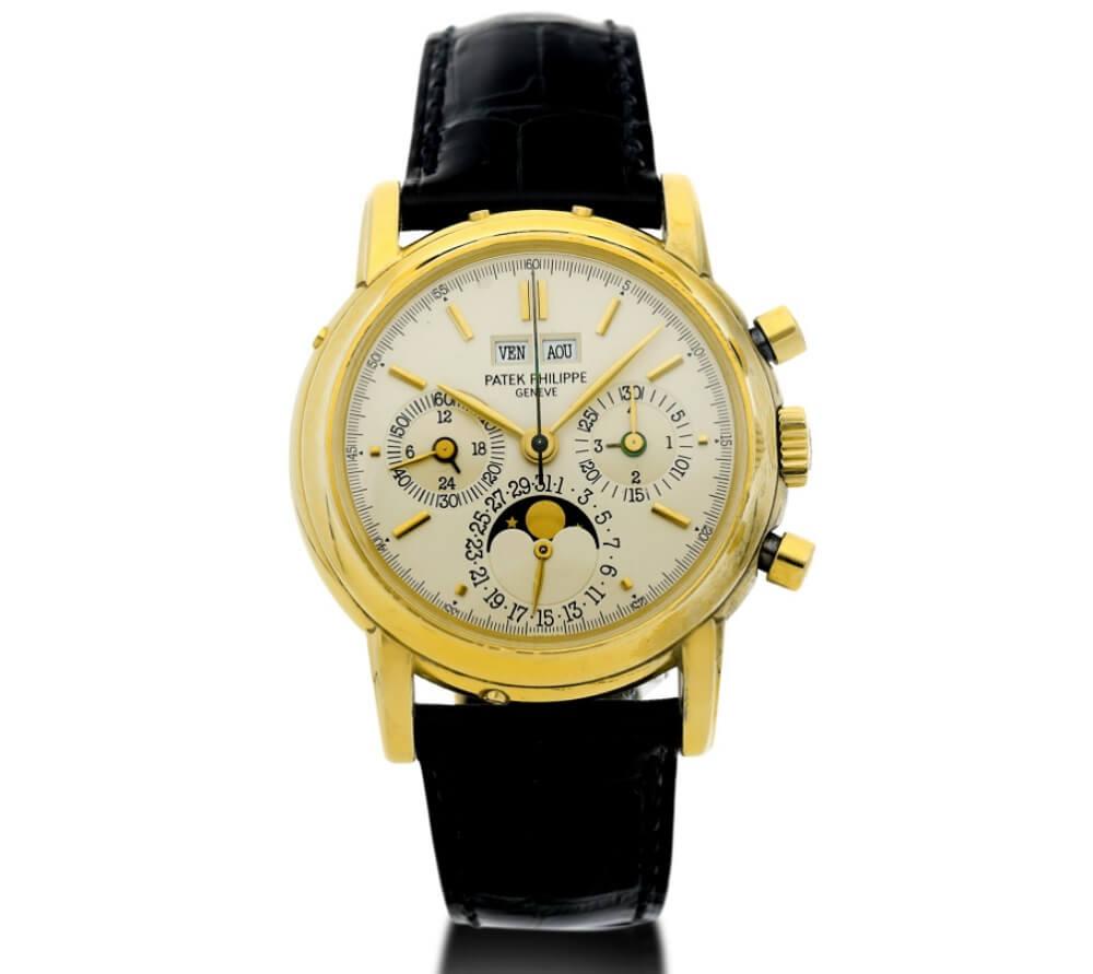 Đồng hồ Patek Philippe Perpetual Calendar Chronograph 3970 EJ cổ điển