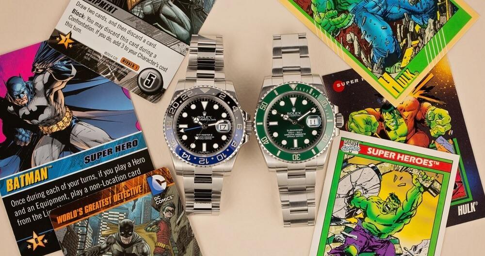 Rolex Batman và Rolex Hukl Chiếc đồng hồ nào tốt hơn?