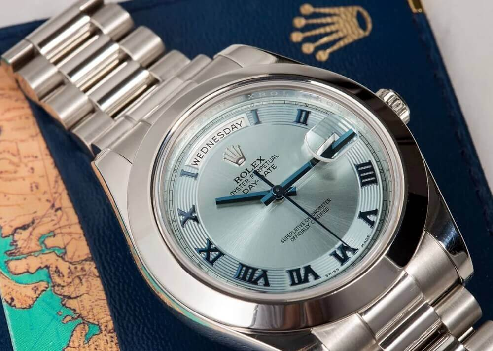 Đồng hồ Rolex Day-Date II President 218206 Platinum