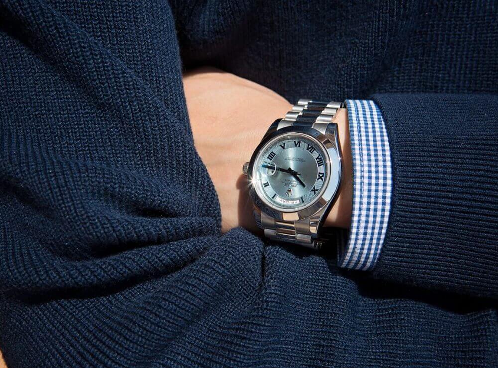 Đồng hồ Rolex Day-Date II Platinum President 218206