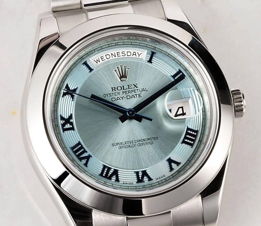 Đồng hồ Rolex Day-Date II President 218206 - Platinum