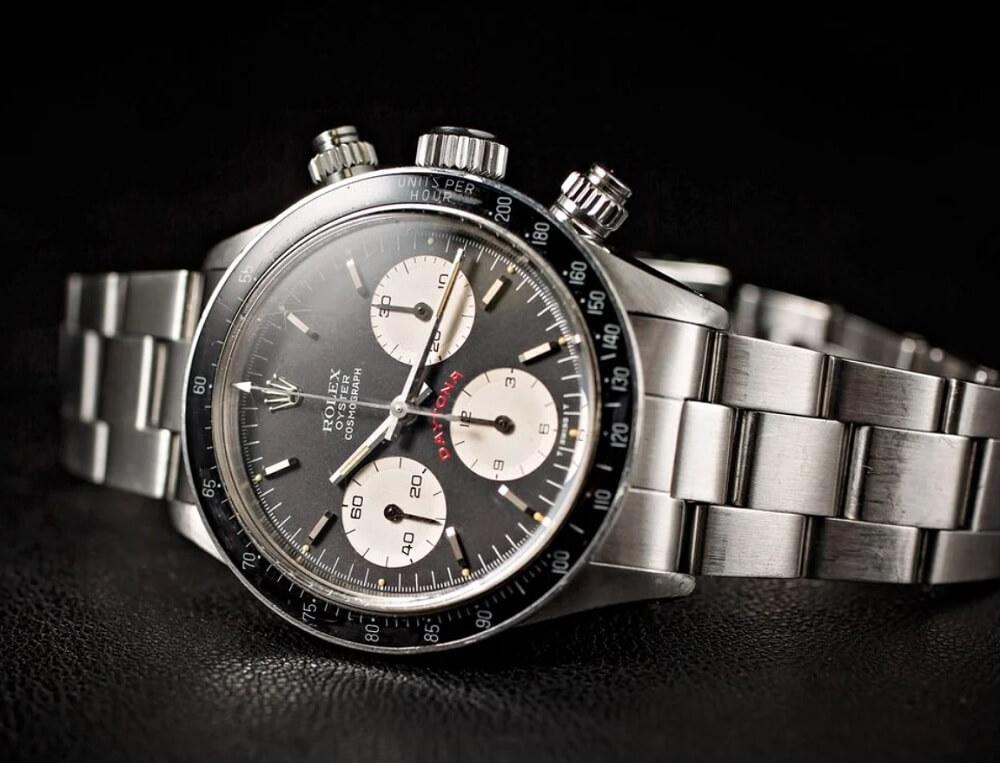 Đồng hồ Rolex Daytona 6263 - Mặt số đen