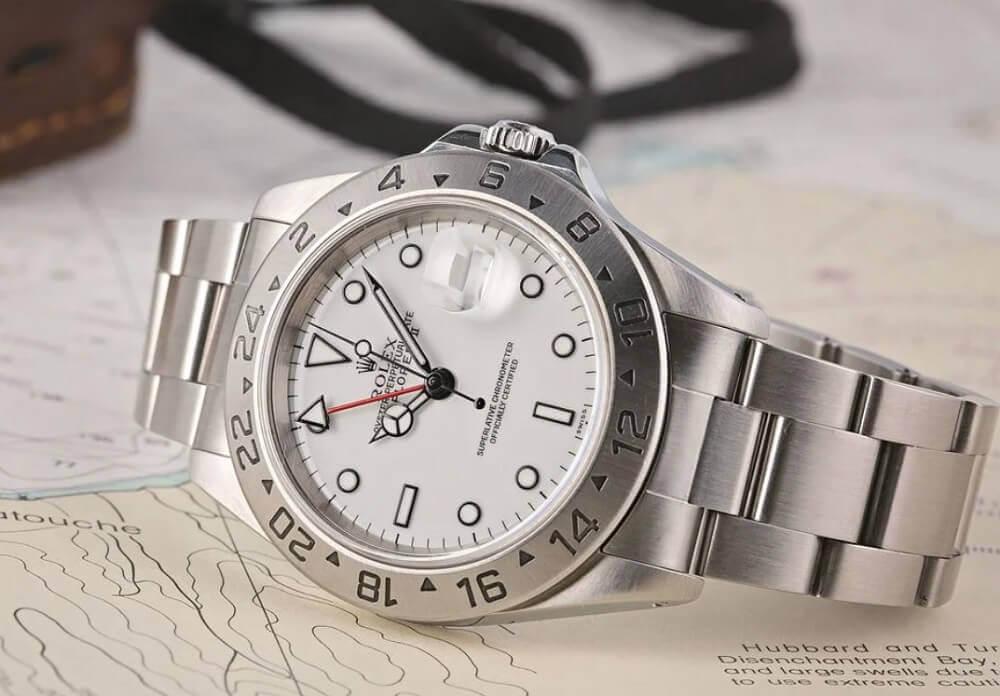 Dòng thời gian đồng hồ Rolex Explorer II