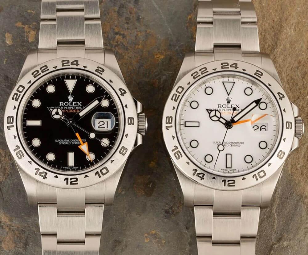 Đồng hồ Rolex Explorer II tham chiếu 216570