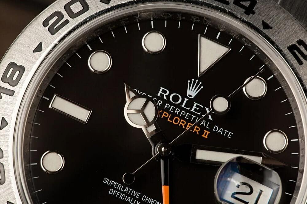 Đồng hồ Rolex Explorer II Ref. 216570 - Mặt số Đen
