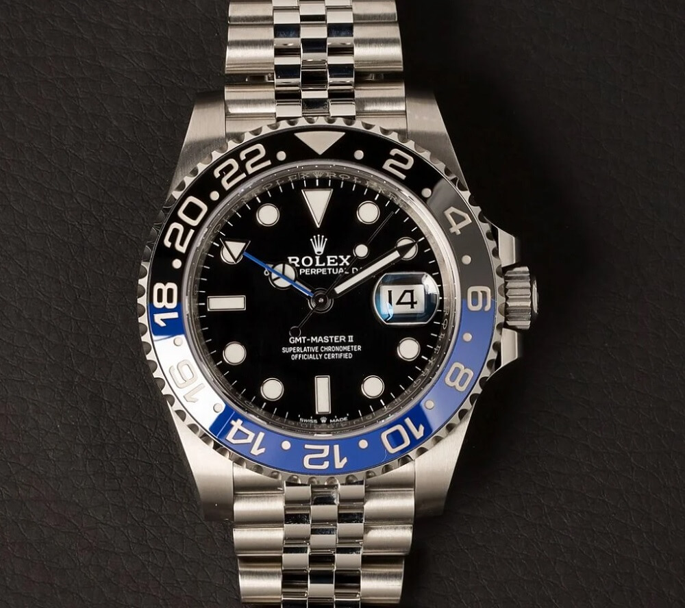 Đồng hồ Rolex GMT-Master II Ref. 126710BLNR - Batman