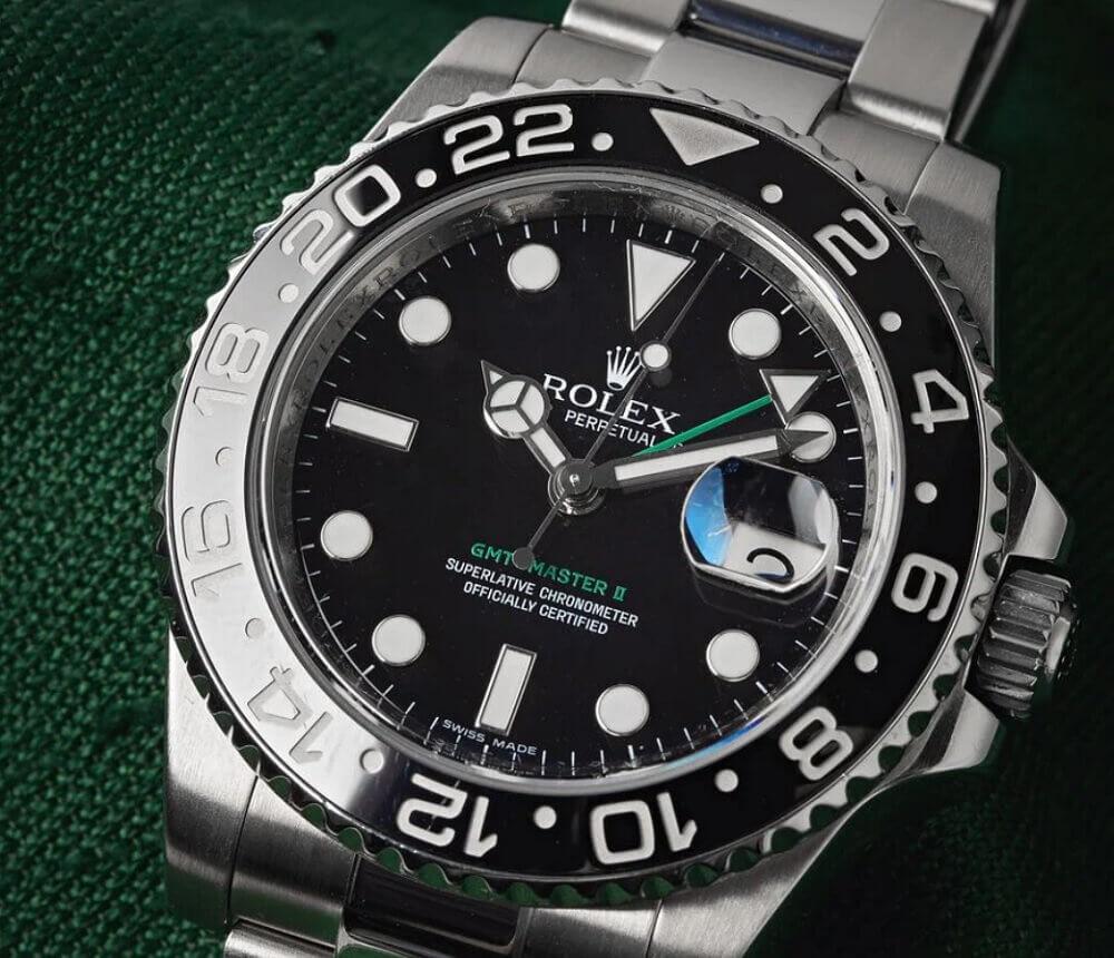 Đồng hồ Rolex GMT-Master II tham chiếu 116710LN