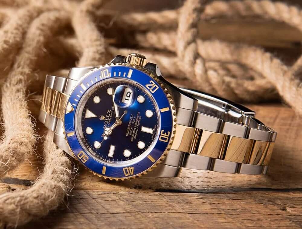 Đồng hồ Rolex Submariner ref. 116613LB - Bluesy